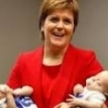 Scottish First Minister Nicola Sturgeon SNP Conference Speech Will Announce Childcare Goals